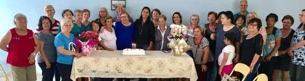 Grupo de terceira idade comemora 25 anos.