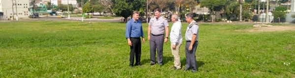 Juninho confirma área para construção de sede da PM em Rio Claro.