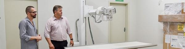 Instalação do aparelho de raios-x na UPA  do Cervezão entra na reta final.