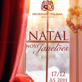 Sociedade Italiana: concerto Natal nos Janelões.