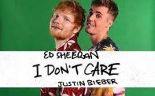 DON'T CARE com Ed Sheeran e Justin Bieber
