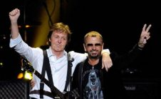Ringo Starr Makes Surprise Appearance at Paul McCartney's Dodger Stadium Concert.