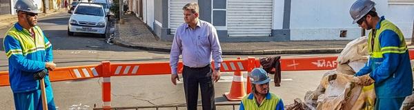 Comgás já está implantando rede  de gás para residências em RC.