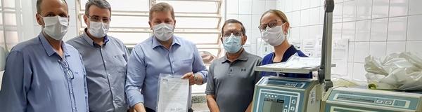 Rio Claro recebe dois respiradores recuperados pelo Senai