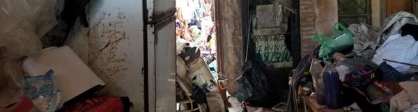 Prefeitura retira uma tonelada de lixo de casa de acumulador