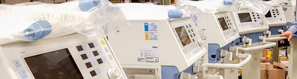 Prefeitura de Rio Claro compra 11 respiradores para atender casos de coronavírus.