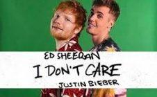DON'T CARE com Ed Sheeran e Justin Bieber
